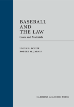 Baseball and the Law book jacket