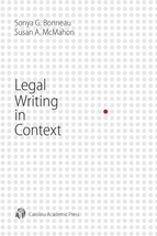 Legal Writing in Context book jacket