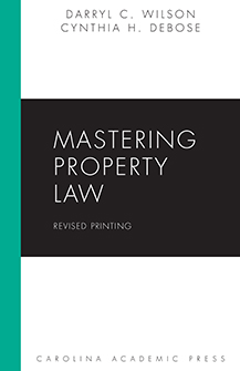 Mastering Property Law book jacket