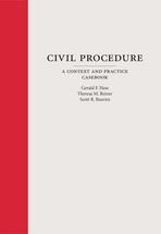 Civil Procedure book jacket