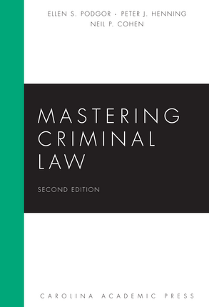 Image of Matering Criminal Law study guide