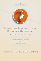 Excluding Intellectually Disabled Offenders from Execution book jacket