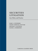 Securities Litigation book jacket
