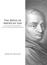 The Birth of American Law book jacket