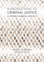 Introduction to Criminal Justice book jacket