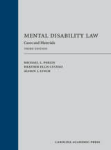 Mental Disability Law book jacket
