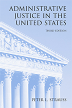 Administrative Justice in the United States book jacket