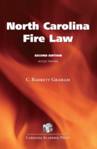 North Carolina Fire Law book jacket