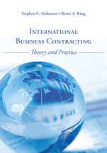 International Business Contracting book jacket