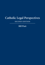 Catholic Legal Perspectives book jacket