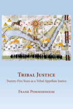 Tribal Justice book jacket