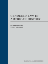 Gendered Law in American History book jacket