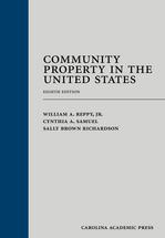 Community Property in the United States book jacket