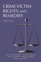 Crime Victim Rights and Remedies book jacket