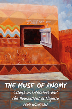 The Muse of Anomy book jacket