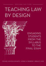 Teaching Law by Design book jacket