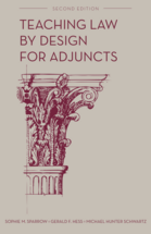 Teaching Law by Design for Adjuncts book jacket