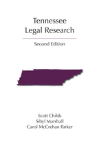 Tennessee Legal Research book jacket