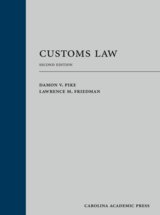 Customs Law book jacket