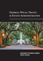 Georgia Wills, Trusts and Estate Administration book jacket