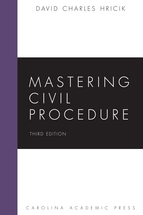 Mastering Civil Procedure book jacket