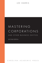 Mastering Corporations and Other Business Entities book jacket