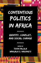 Contentious Politics in Africa book jacket