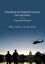 Homeland and National Security Law and Policy book jacket