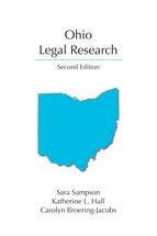 Ohio Legal Research book jacket