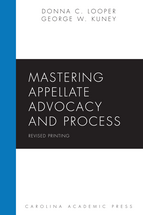 Mastering Appellate Advocacy and Process book jacket