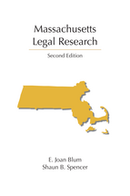 Massachusetts Legal Research book jacket
