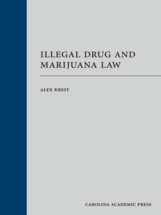 Illegal Drug and Marijuana Law book jacket