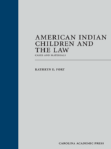 American Indian Children and the Law book jacket