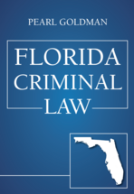 Florida Criminal Law book jacket