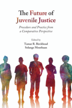 The Future of Juvenile Justice book jacket