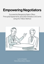 Empowering Negotiators book jacket