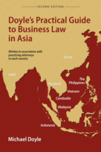Doyle's Practical Guide to Business Law in Asia book jacket