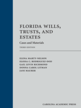 Florida Wills, Trusts, and Estates book jacket