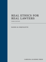 Real Ethics for Real Lawyers book jacket