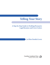 Telling Your Story book jacket
