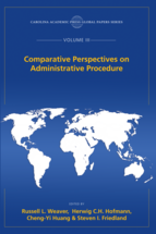 Comparative Perspectives on Administrative Procedure book jacket