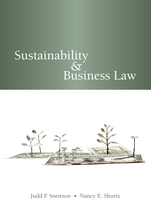 Sustainability & Business Law book jacket