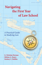 Navigating the First Year of Law School book jacket