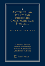 Antitrust Law, Policy, and Procedure book jacket
