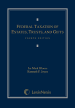 Federal Taxation of Estates, Trusts and Gifts book jacket