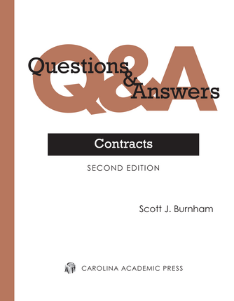 image of Q&A Contracts Book study guide
