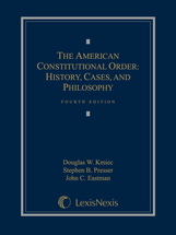 The American Constitutional Order book jacket