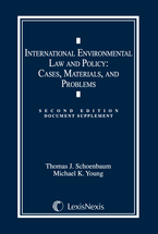 International Environmental Law and Policy Document Supplement book jacket