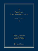 Evidence Law and Practice book jacket