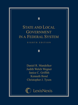 State and Local Government in a Federal System book jacket